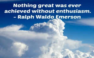 enthusiasm quote by Emerson